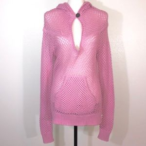 Oakley Pullover Sweater  Long Sleeve Pink Large